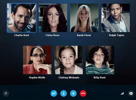 Skypeの無料のグループビデオ機能でテレビ会議を …